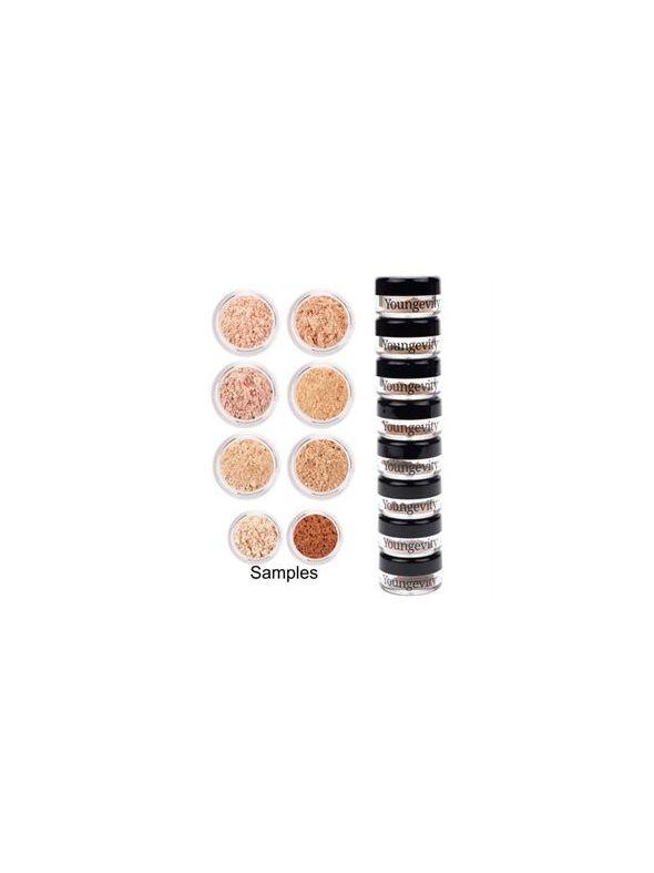 Mineral Makeup Sample Tower - Light to Medium