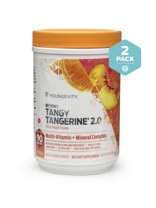 BTT 2.0 Citrus Peach Fusion 480 G Canister (Twin Pack)