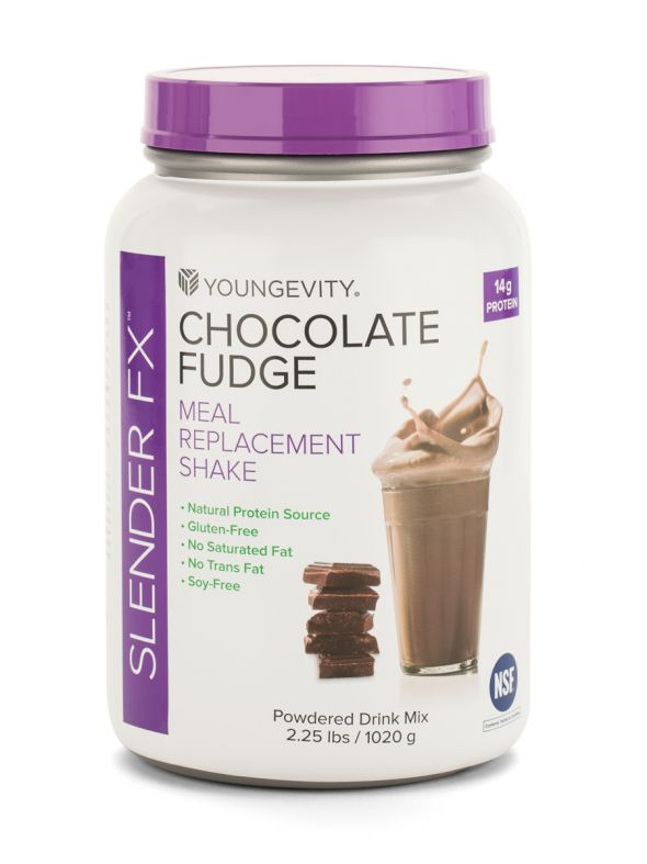 Slender Fx  Meal Replacement Shake - Chocolate Fudge