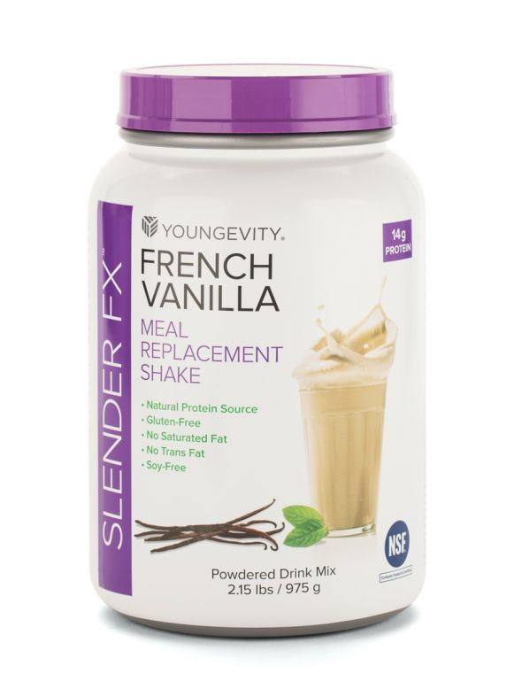 Slender Fx Meal Replacement Shake - French Vanilla