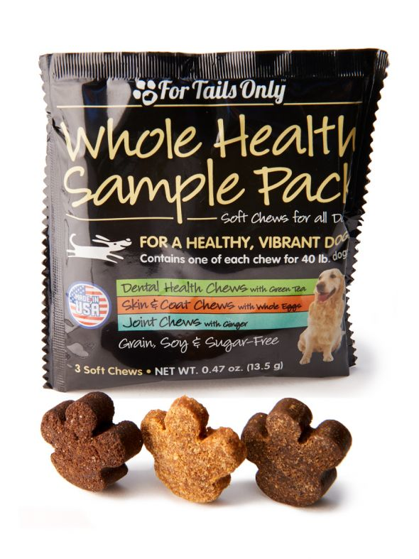 50-Pack of 3-in-1 Treat Sample Sachets
