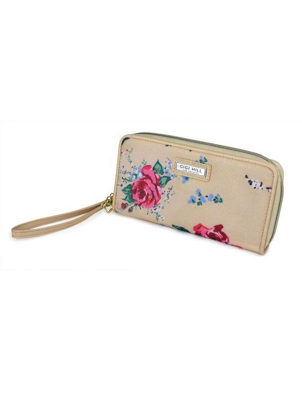 Rita Antique Floral Wallet