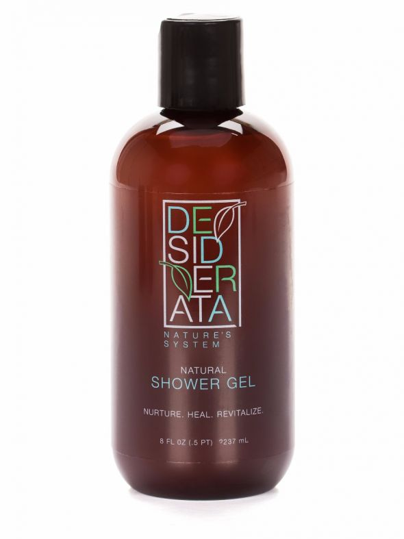 Desiderata Natural Shower Gel - 8 oz.